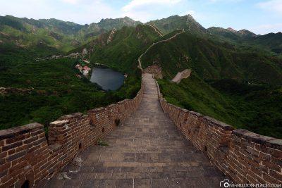 Der Abstieg Richtung Tal