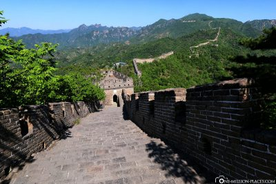 The Wall Section at Mutianyu