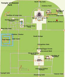 A map of the park