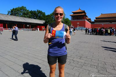 The ticket to the Forbidden City