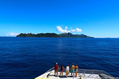 The small islands in Fiji
