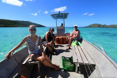 Boat trip to Blue Lagoon