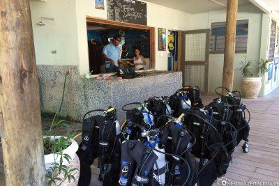 Die Tauchschule Vertical Blue Diving