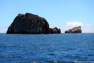 The Gordon Rocks in Galapagos