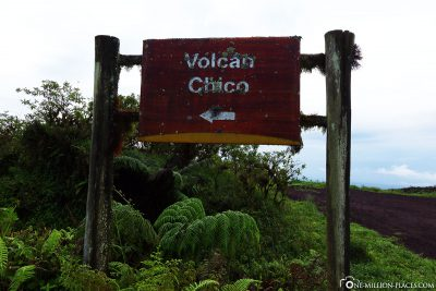 The way to the volcano Chico
