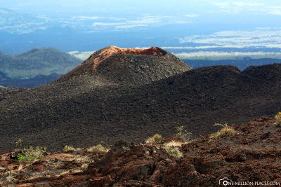 Ein Vulkankrater