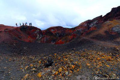 Die bizarre Vulkanlandschaft
