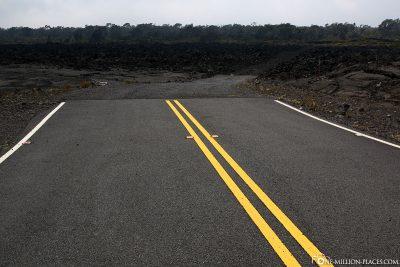 Das Ende dieser Straße