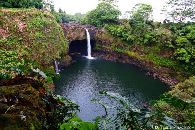 Die Rainbow Falls in Hilo