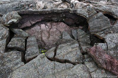 Lave of Mauna Ulu Volcano