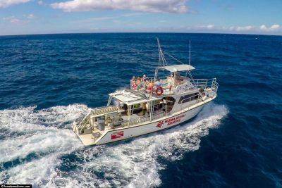 Das Tauchboot von Kona Honu Divers