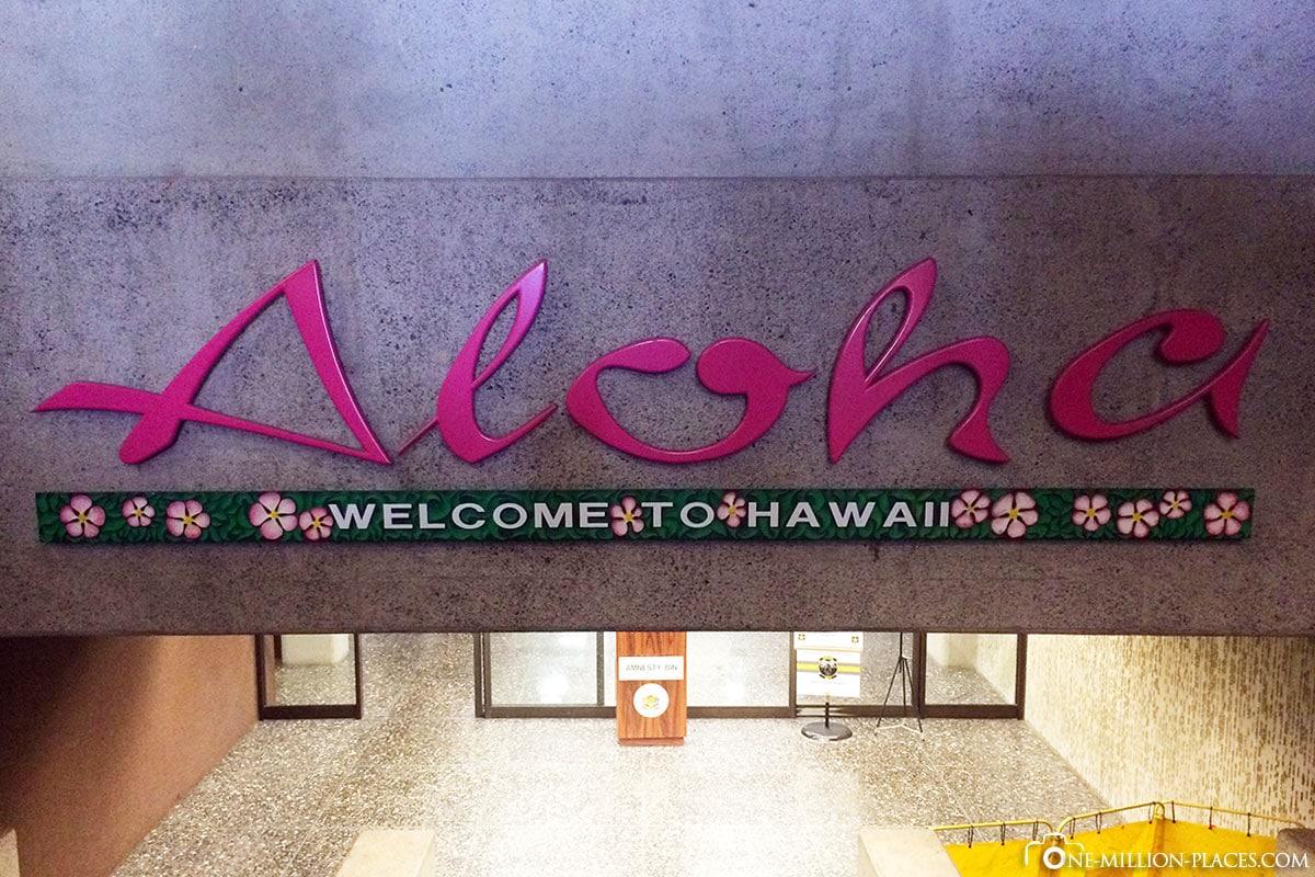 Aloha, Honolulu, Waikiki, Hawaii, USA, On Your Own, Travelreport
