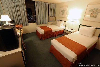 Unser Zimmer im Hotel Maile Sky Court