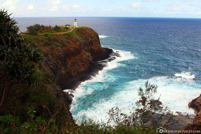 Der Kilauea Point mit Leuchtturm
