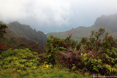 View of the Napali Coast