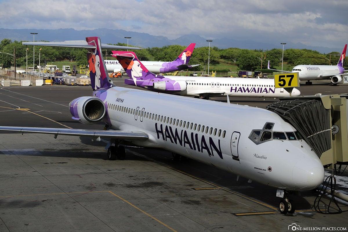 Hawaiian Airlines, Maui, Travel Report