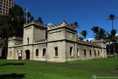 The Iolani Barracks