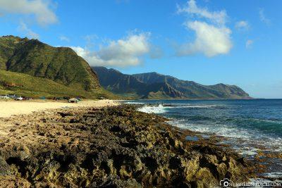 Die Westküste von Oahu