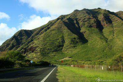 The west coast of Oahu