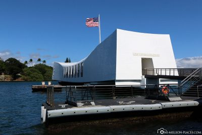 Das USS Arizona Memorial