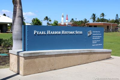 The entrance to Pearl Harbor