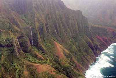 The Napali Coast on the West Coast