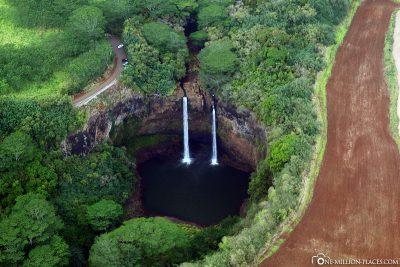 The Waimea Waterfalls