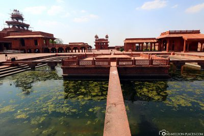 Courtyard of Daulat Khana