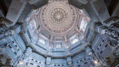 Die Kuppel des Tempels