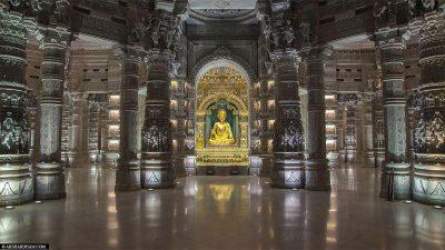 Der Innenraum des Tempels