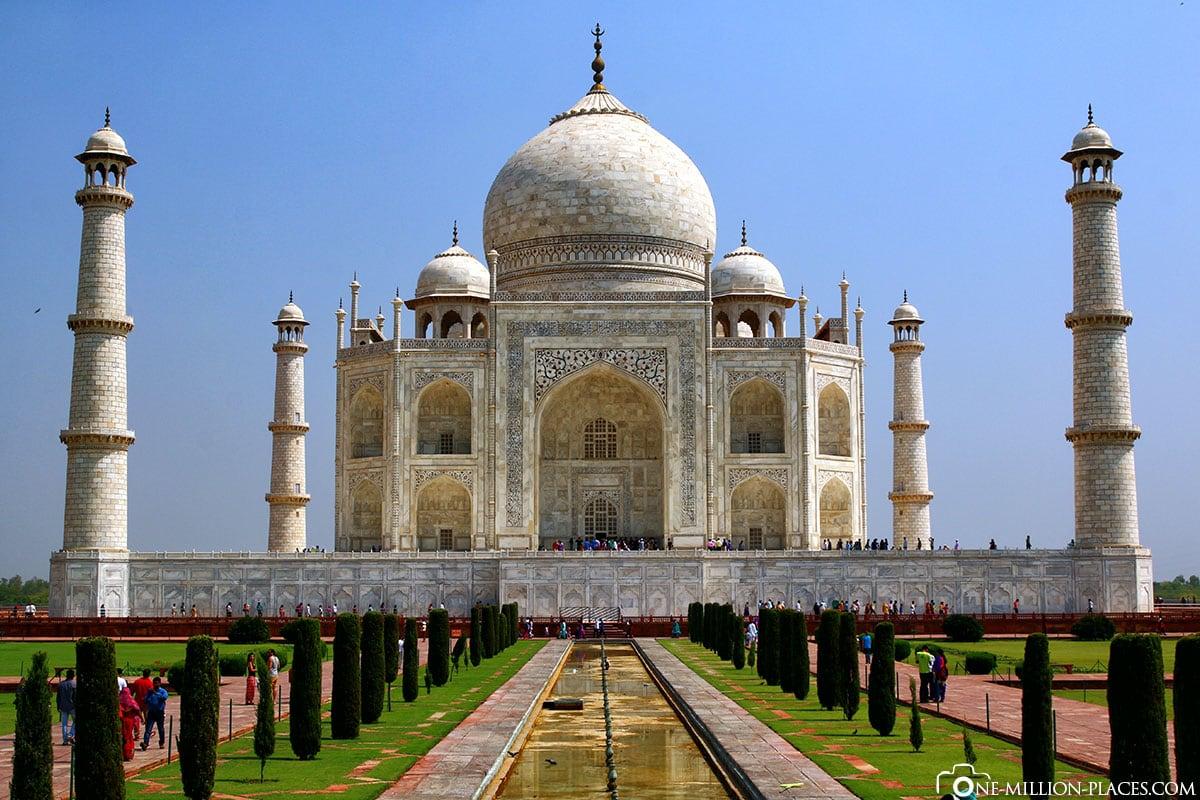 Denkmal einer großen Liebe, Taj Mahal, Agra, Indien, Mausoleum, Reisebericht