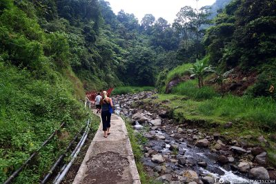 The way to the waterfall
