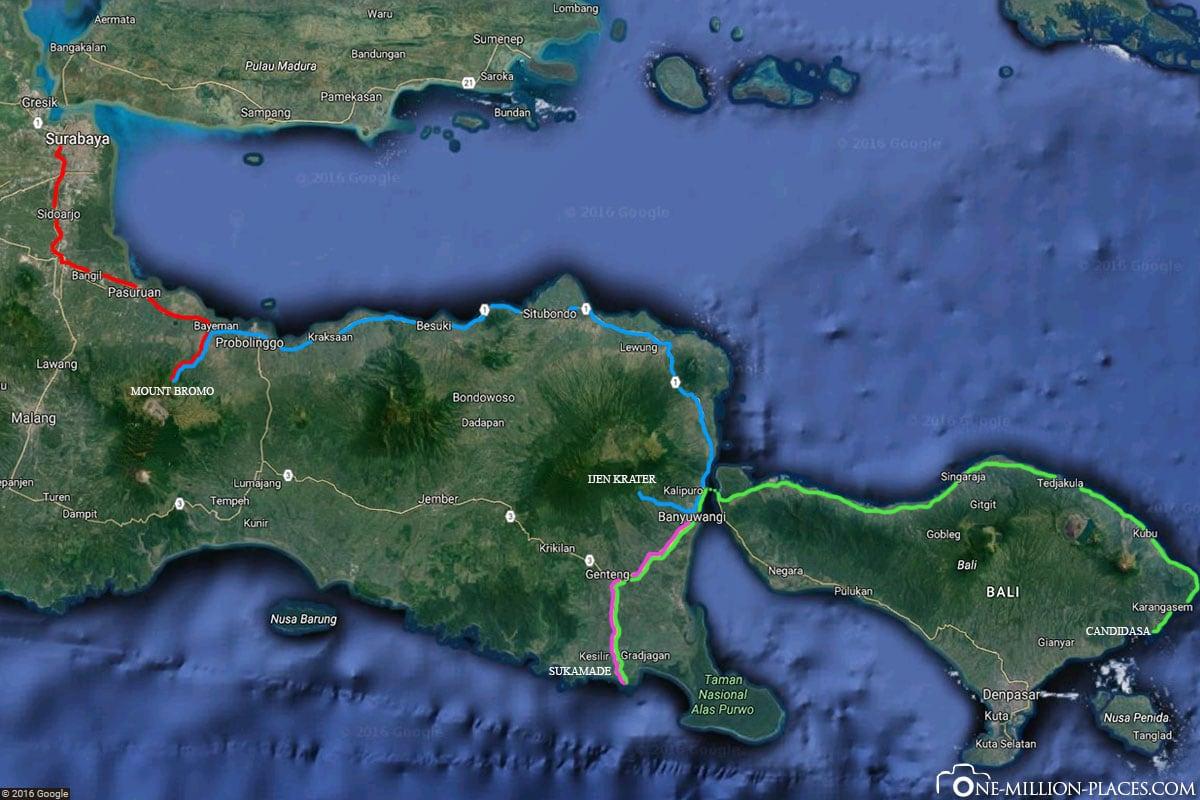 Tour, Java, 4 Days, Indonesia, Travelreport