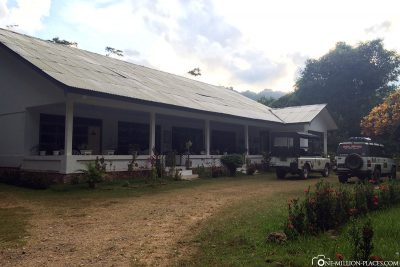 Arrival at the property