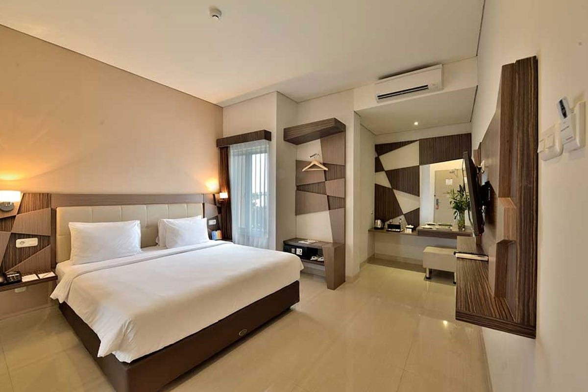 Rooms, Hotel Dafam Fortuna Malioboro, Yogyakarta, Indonesia, Travel Report