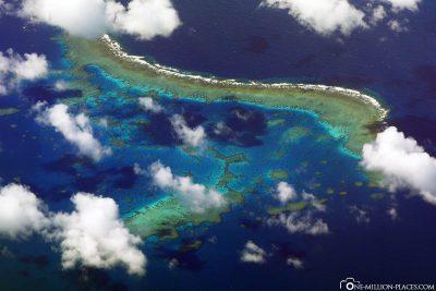 Blick auf das Great Barrier Reef