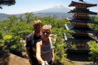 Die Chureito Pagoda