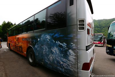 Der Bus zurück nach Kawaguchiko