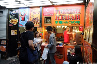 Doner stand in Tokyo