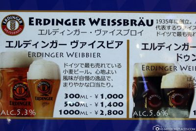 Who doesn't know - the Erdinger Weibbier