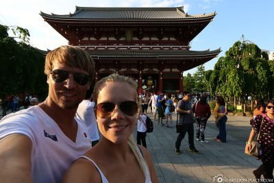 The Sensoji Temple