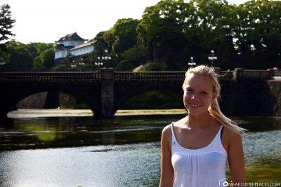 The Nijubashi Bridge