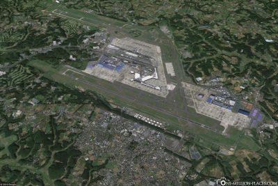 Der Flughafen Tokio-Narita