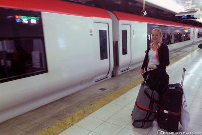 Der Narita Expresszug