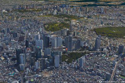 Das Metropolitan Government Building in Google Earth