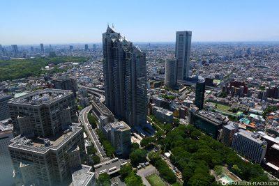 Die Aussicht vom Metropolitan Government Building