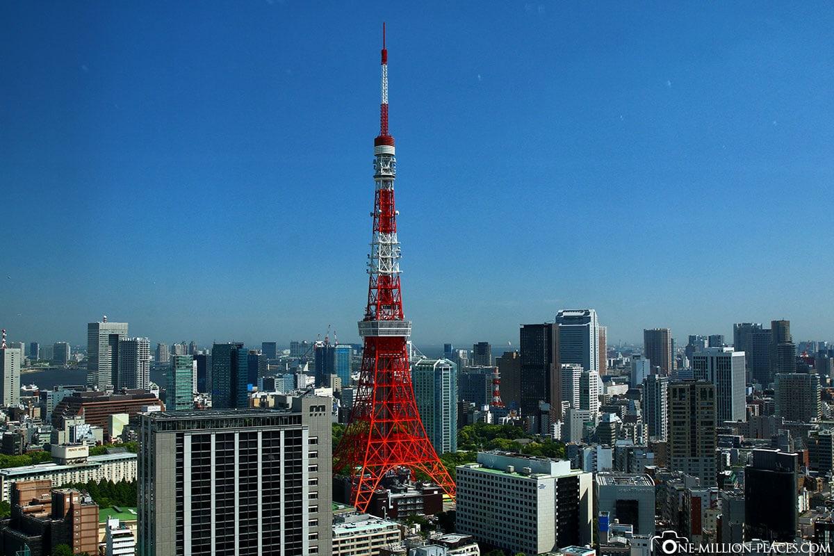 Tokyo Tower, Tokio, Japan, Sehenswürdigkeiten, Auf eigene Faust, Stadtbesichtigung, Reisebericht