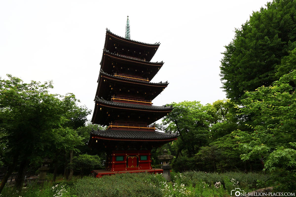 Pagoda, Ueno Zoo, Tokyo, Japan, On Your Own, City Tour, Attractions, TravelReport