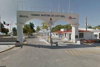 The port of Chetumal