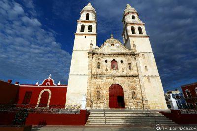 Die Kathedrale in Campeche
